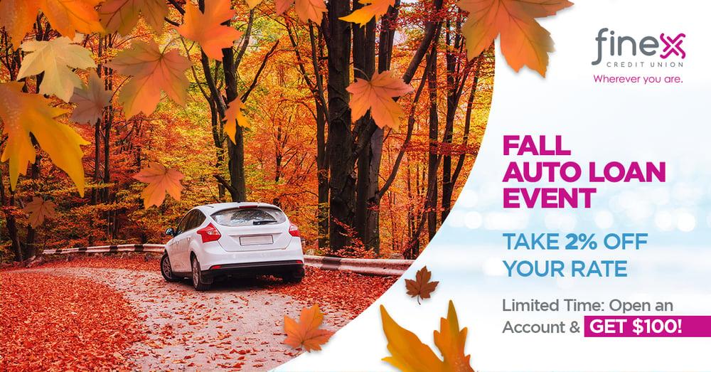 Fall Auto Loan Event